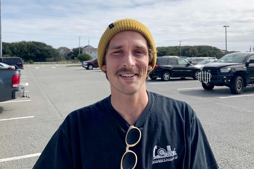 Josh Peterson, 24, of Kitty Hawk, N.C.