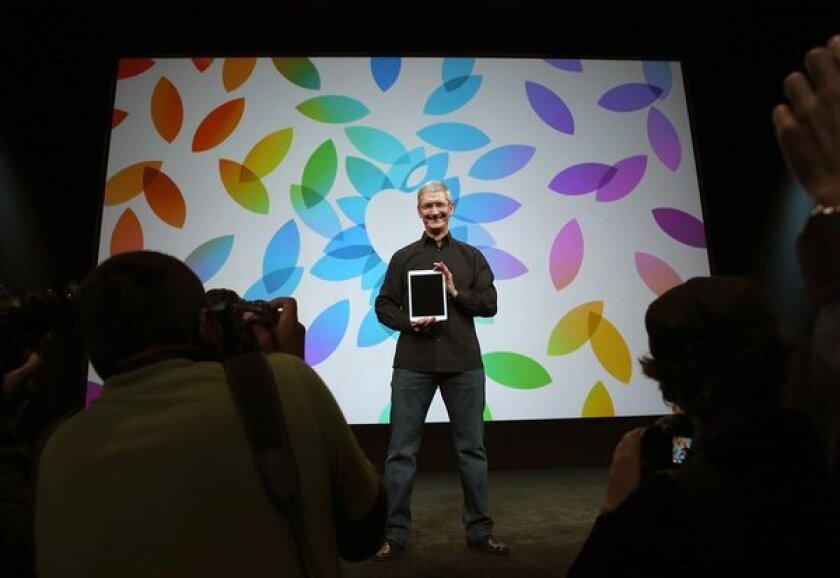 Apple CEO Tim Cook wrote an opinion piece urging the U.S. government to pass an anti-gay discrimination bill.