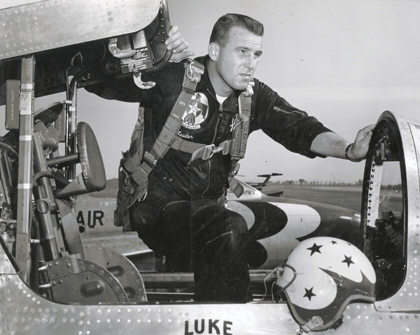 Air Force pilot Jack Broughton flew 102 missions in Vietnam and and received an Air Force Cross and two Silver Star citations. In Korea he flew 114 missions.