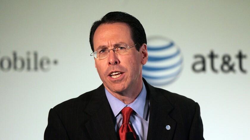 AT&T Chairman and Chief Executive Randall Stephenson