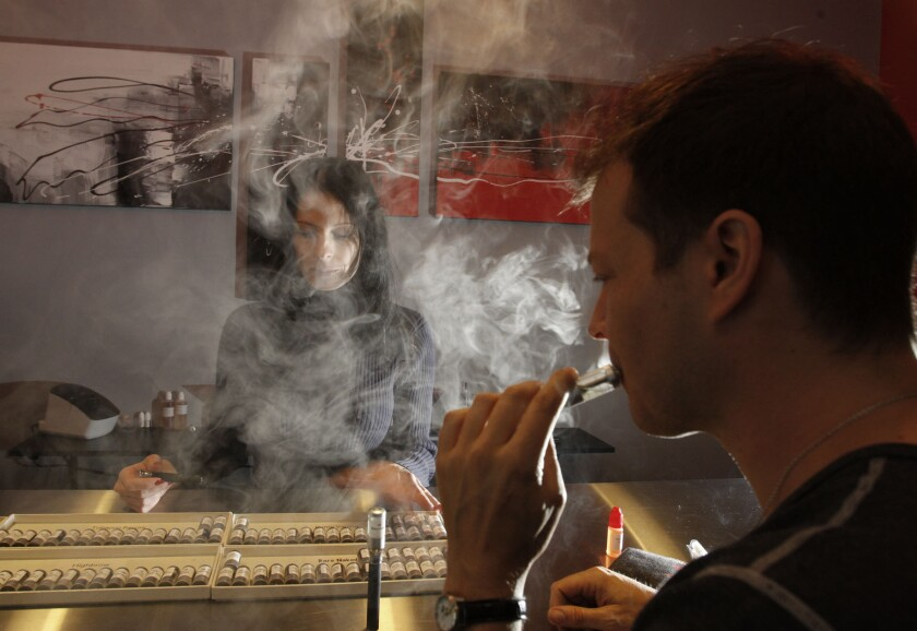 L.A. City Council to vote on measure to restrict e-cigarette 'vaping'