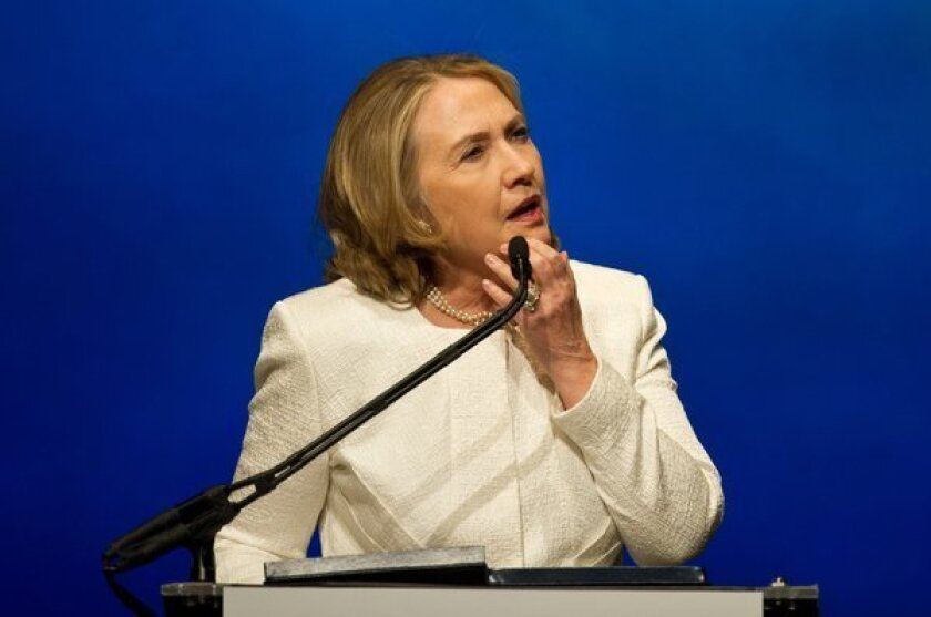 Political consultant Carville pushes Hillary Clinton for president