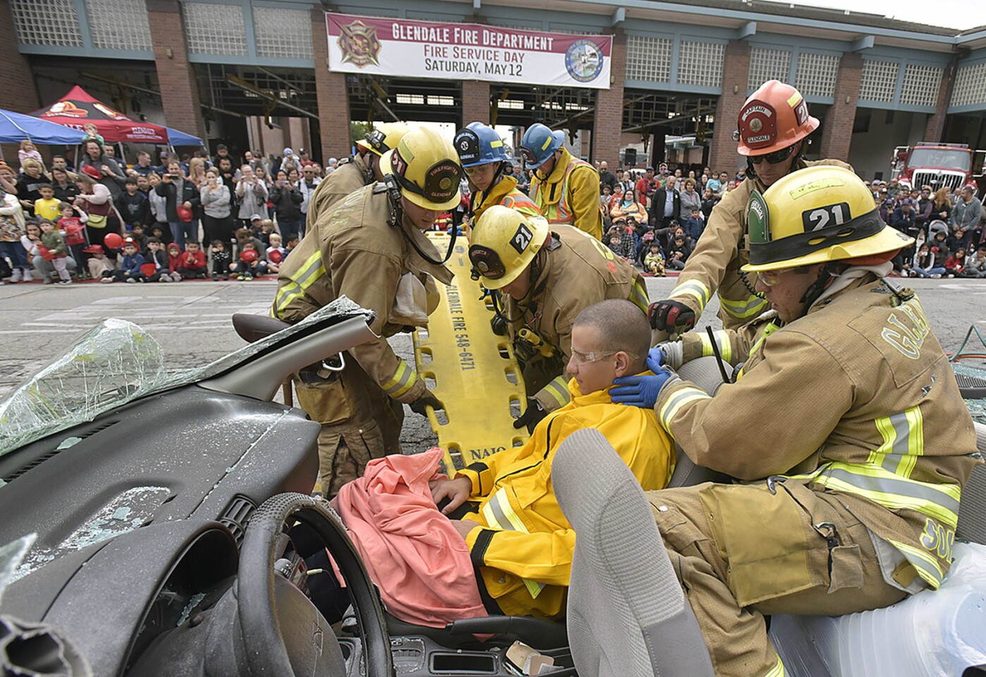 Photo Gallery: Glendale Fire Service Day 2018
