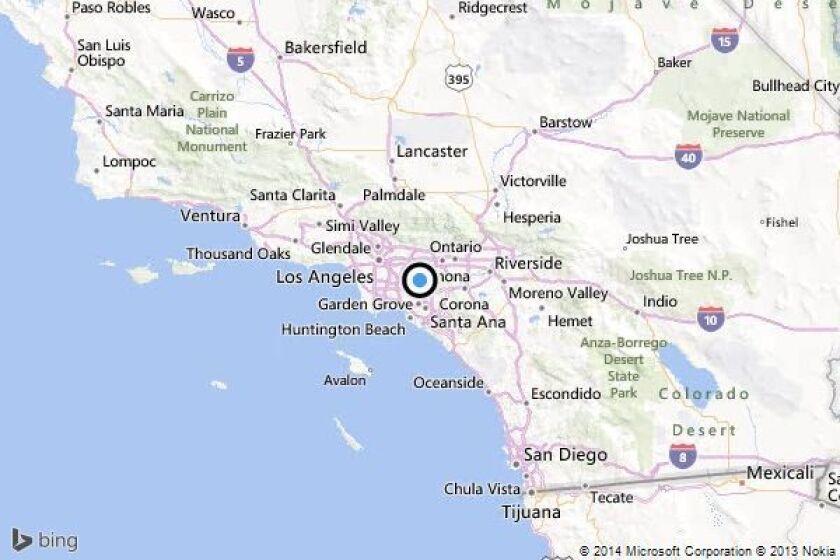 Earthquake: 2.7 quake strikes near La Habra, California