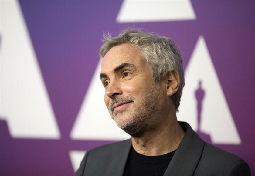 """El director de la película """"Roma"""", Alfonso Cuarón. EFE/Archivo"""