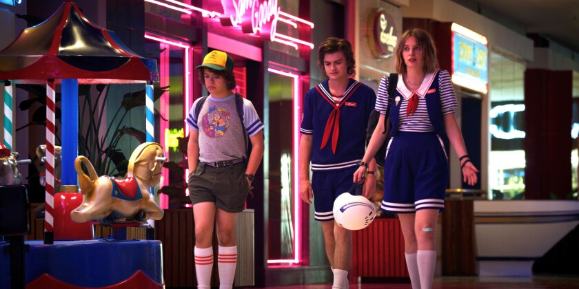 A scene from 'Stranger Things'