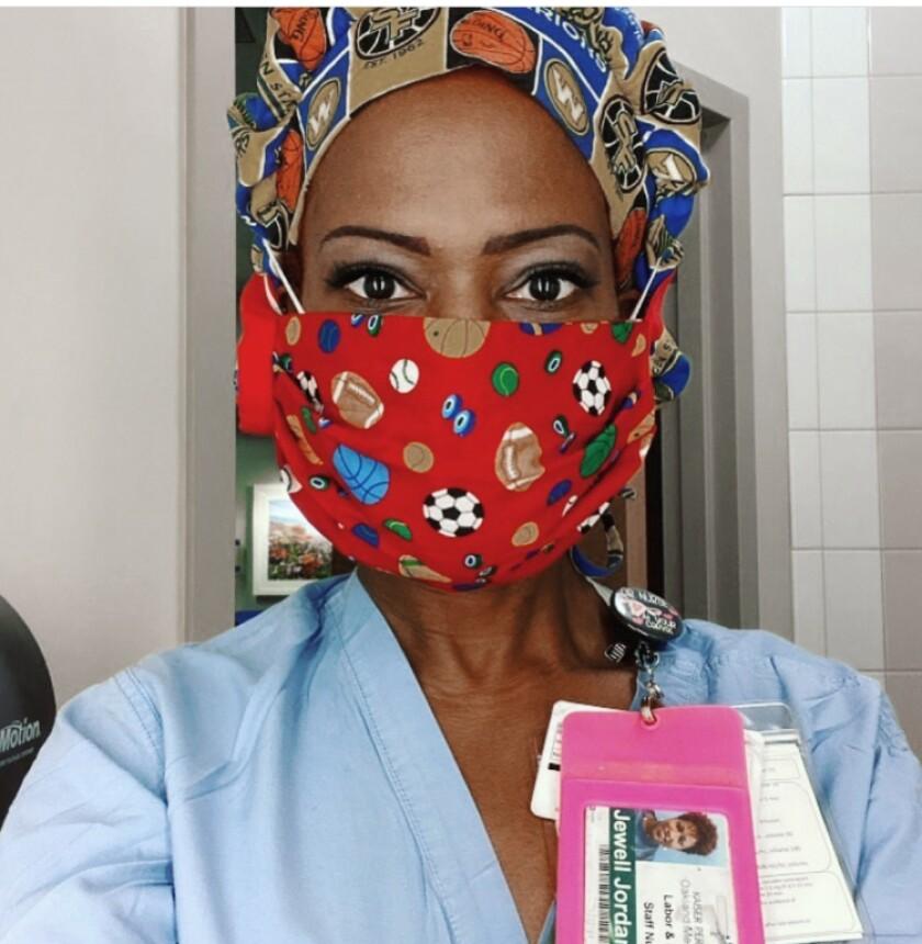 Registered nurse Jewell Harris Jordan