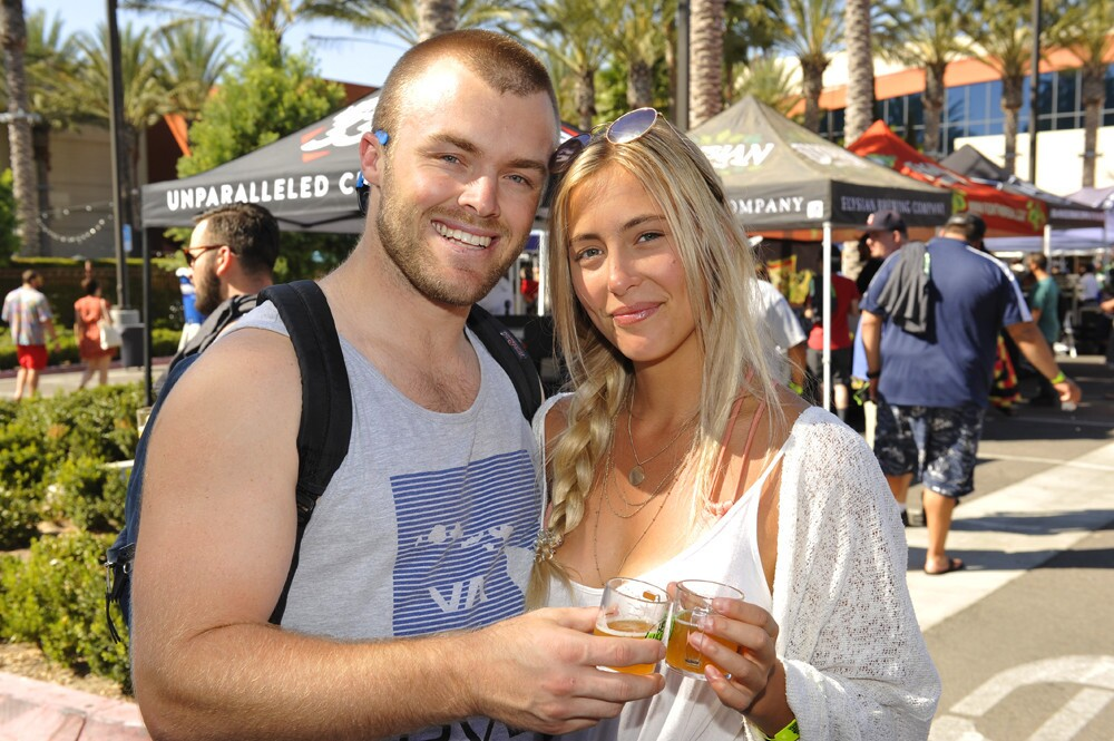 Crowds enjoyed sunshine, brews and reggae tunes from The Green, Hirie and more during the annual Hop Heads & Dreads festival at Harrah's SoCal Resort on Saturday, Sept. 30, 2017. (Jared Gase)