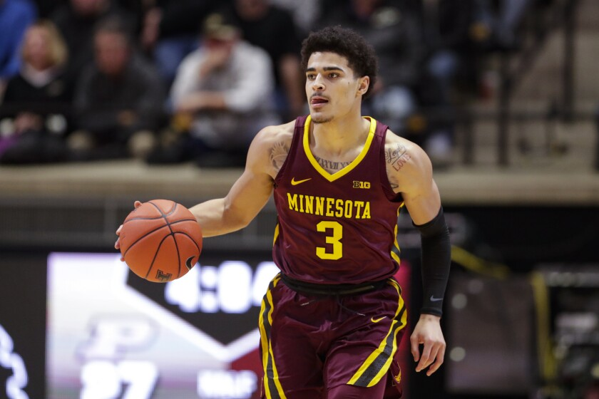 Minnesota guard Bryan Greenlee