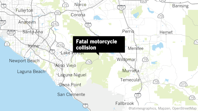 Two motorcyclists killed in head-on crash on Ortega Highway