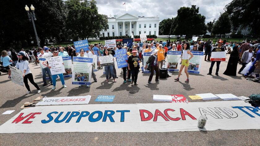 Trump may leave DACA in place for six months to allow Congress to act