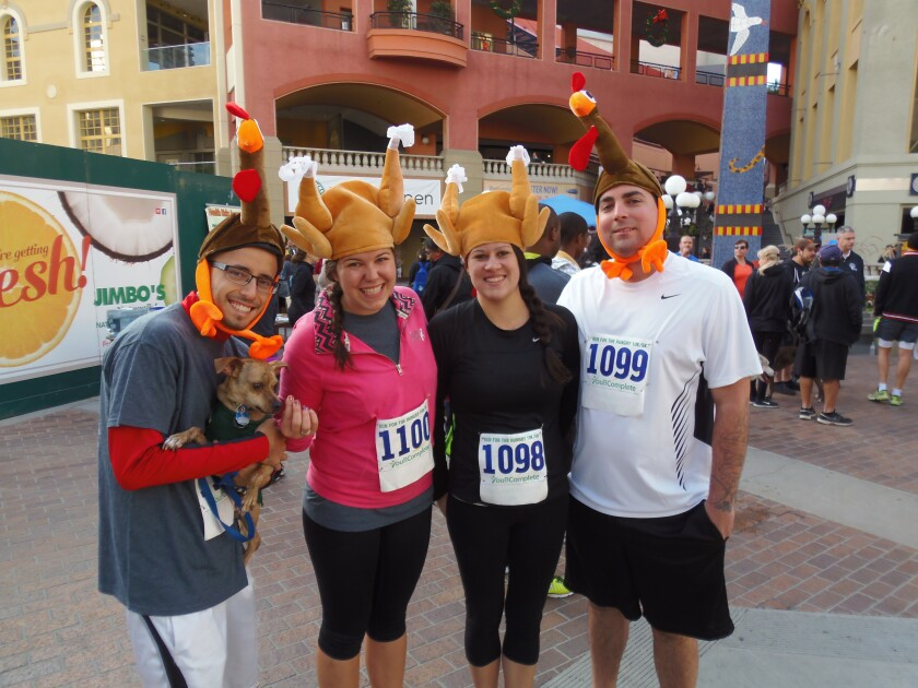 A photo of San Diego Run for the Hungry