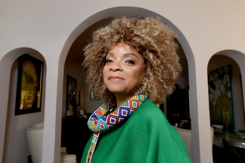 """Dolemite is My Name"" costume designer Ruth E. Carter, photographed in 2018."