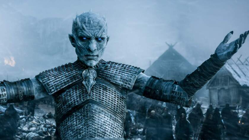 The Night King from season seven. (Helen Sloan/HBO/TNS) ** OUTS - ELSENT, FPG, TCN - OUTS **