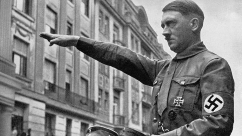 """Hitler era """"el Führer de las Drogas"""", era """"un adicto consumado cuyas venas estaban casi colapsadas para cuando se retiró al último de sus búnkers""""."""