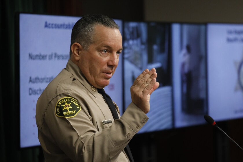 Sheriff Alex Villanueva responds to a recent RAND report saying gang-like cliques still exist within the sheriff's dept.