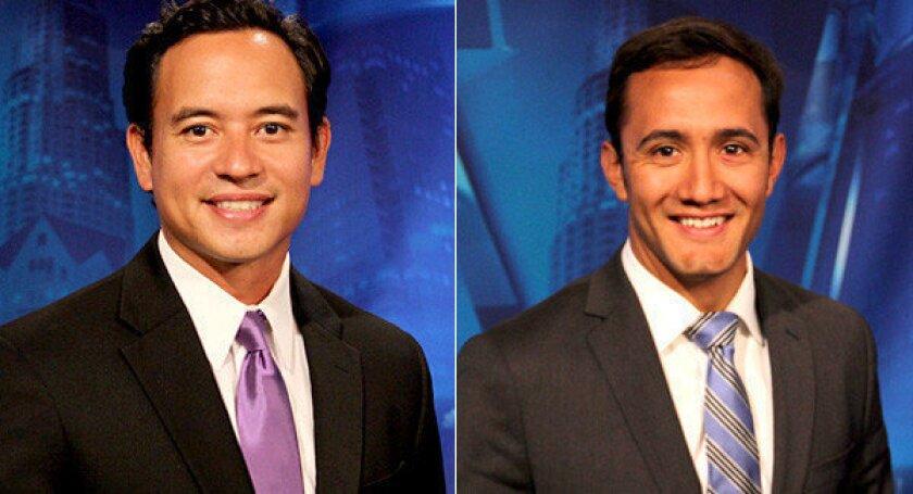 Adrian Arambulo, left, and Gadi Schwartz join NBC4 Southern California's news team.