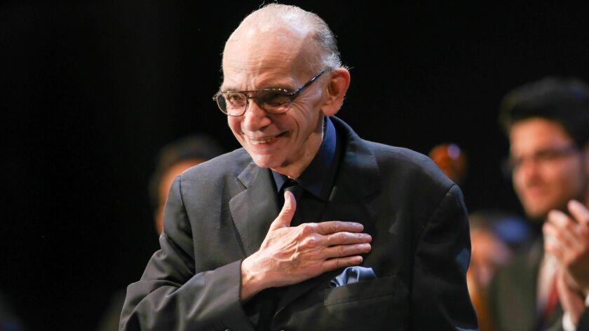 El Sistema founder Jose Abreu dead at 78, Salzburg, Austria - 26 Jul 2013