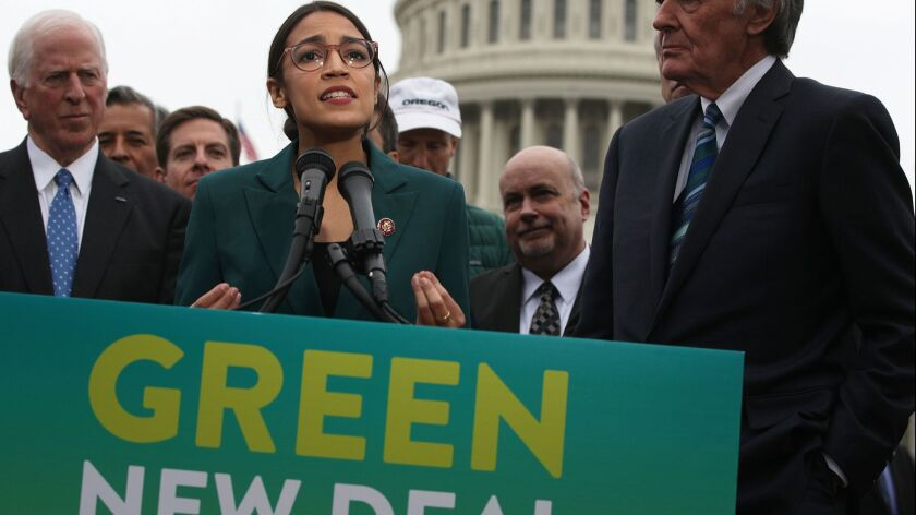 How the Green New Deal is shaping the race for president
