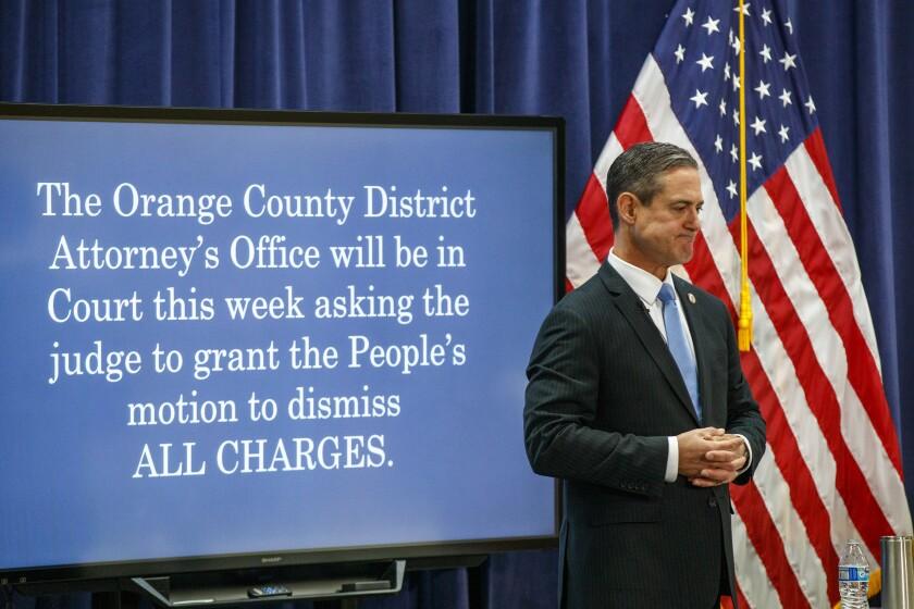 Orange County Dist. Atty. Todd Spitzer