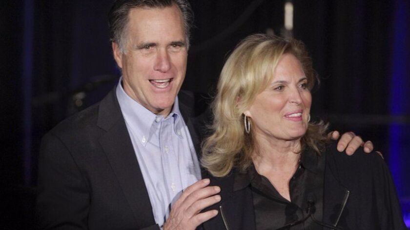 Former Gov. Mitt Romney was the GOP candidate for president but it's his wife, Ann, who is keynoting