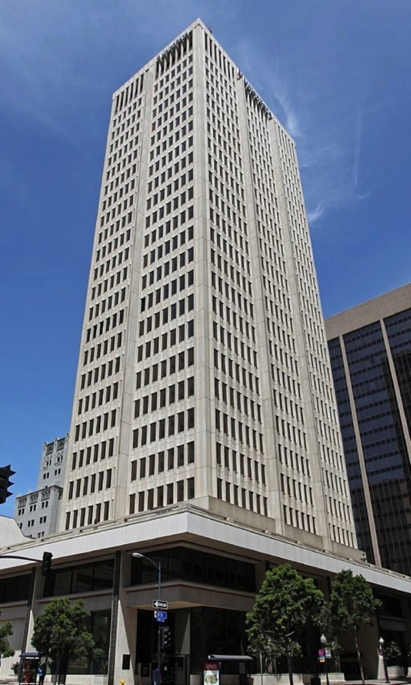 Union Bank, henceforth 525 B Building, opened in 1966 as B Street was becoming San Diego's skyscraper row.