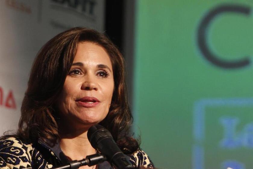 En la imagen, la embajadora de México en Colombia, Blanca Alcalá. EFE/Archivo