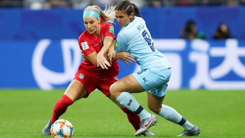 FIFA Women's World Cup 2019, Reims, France - 11 Jun 2019