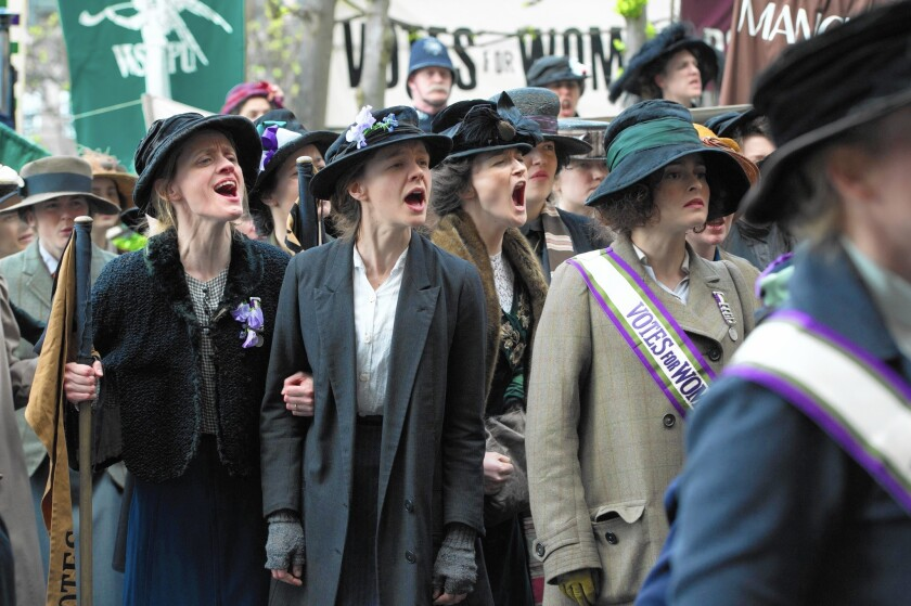 Carey Mulligan lifts 'Suffragette' from its overly earnest leanings