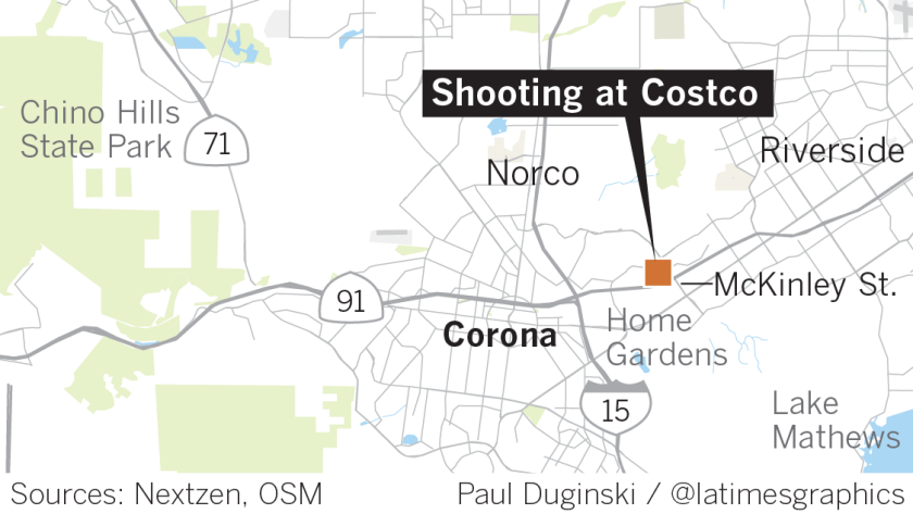 Corona Costco shooting