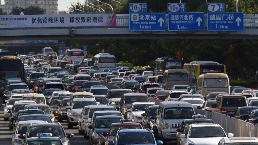 CHINA-AUTO-ENVIRONMENT