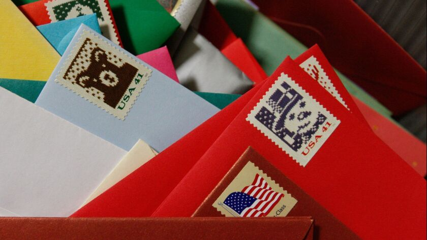 U.S. Post Offices Contend With Busiest Day Of Holiday Season