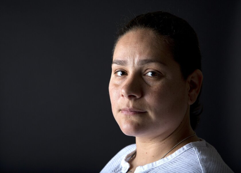 Purple Heart recipient Marlene Rodriguez, 34, who served three tours to Iraq, medically retired from the Army in 2009.