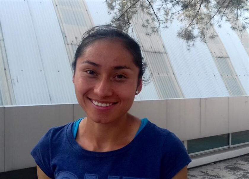 Fotografía de la mexicana Guadalupe González, durante una entrevista con Efe en Ciudad de México. EFE/Archivo