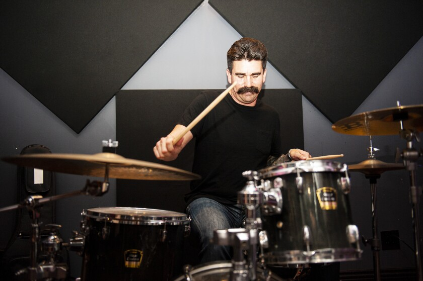 Oceanside-based Mike Martinez, known as the undisputed dad of the group, was always on Moses Constable's mind to be the drummer.
