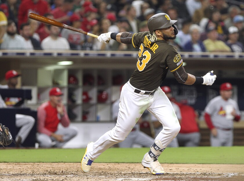 Fernando Tatis Jr. is hitting with .324 with 16 home runs in his first 64 games in the major leagues.