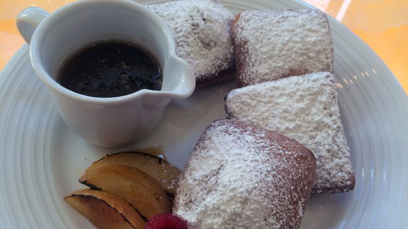 Sure, it might be heretical to suggest you not eat too much steak at Final Cut, but you must save room for the steakhouse's pillowy, sweet beignets, served with silky caramel sauce.