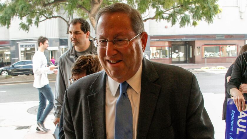 Los Angeles City Councilman Paul Koretz, seen earlier this year, backed the condo conversions, but said he did so reluctantly.