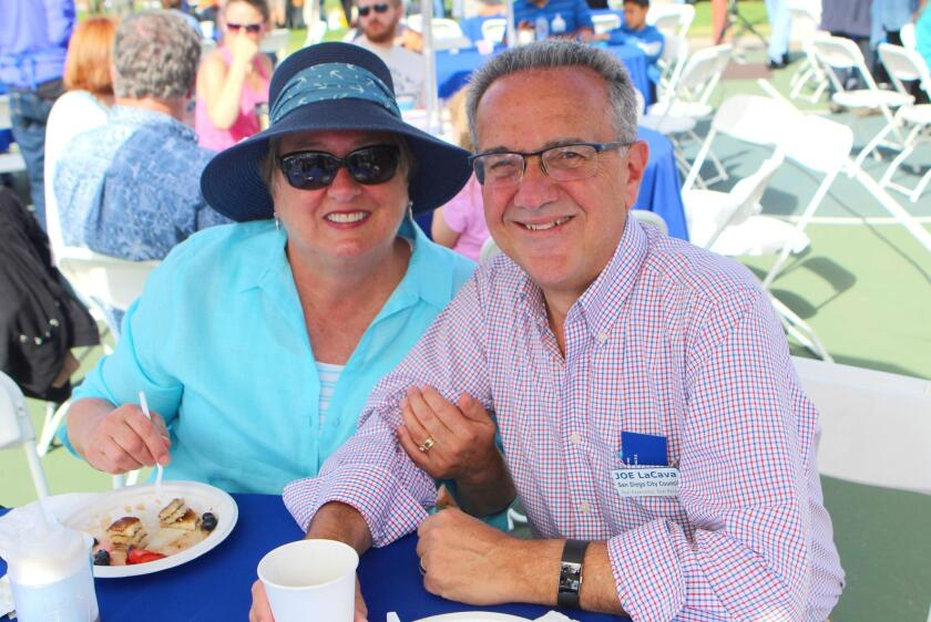 Longtime local residents Joe LaCava (a candidate for District 1 City Council) and his wife, Lorene