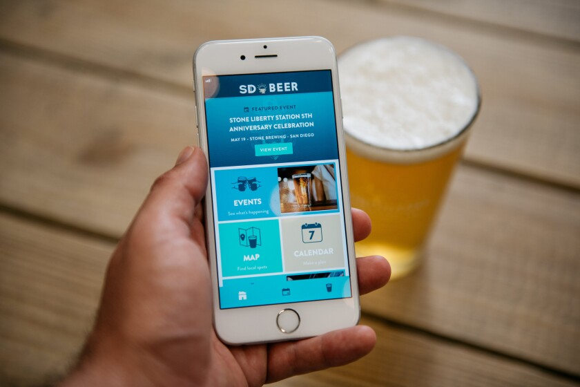 The San Diego Brewers Guild released the SD Beer App.