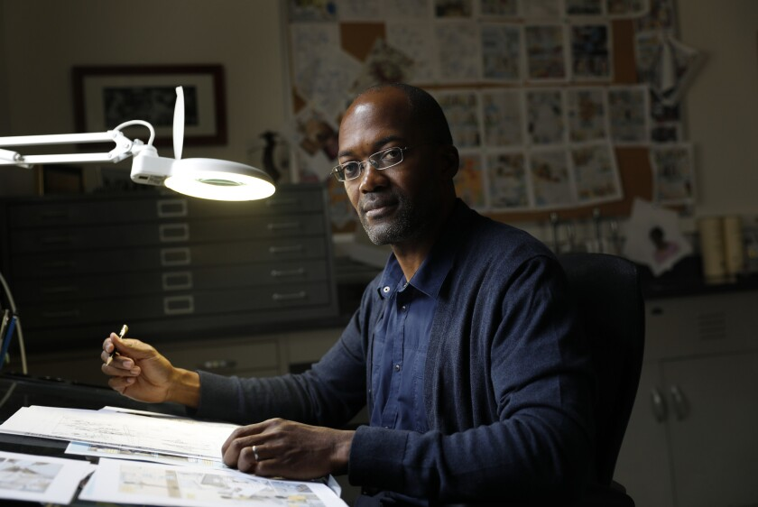 "Clifford Johnson, a physicist at USC, is the author and illustrator of a new book called ""The Dialogues."""
