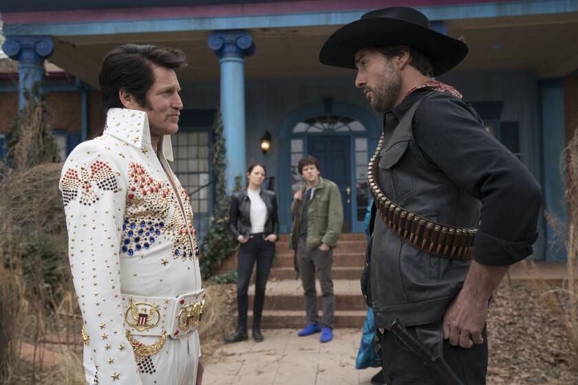Woody Harrelson and Luke Wilson