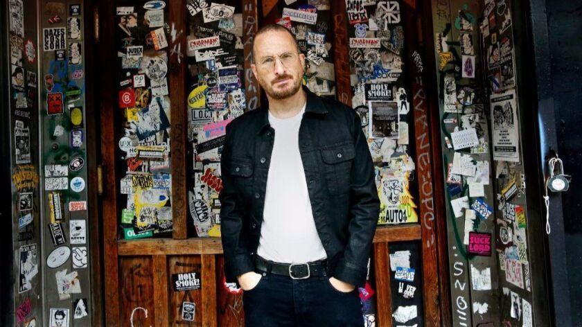 Filmmaker Darren Aronofsky in East Village, N.Y., in August 2017.