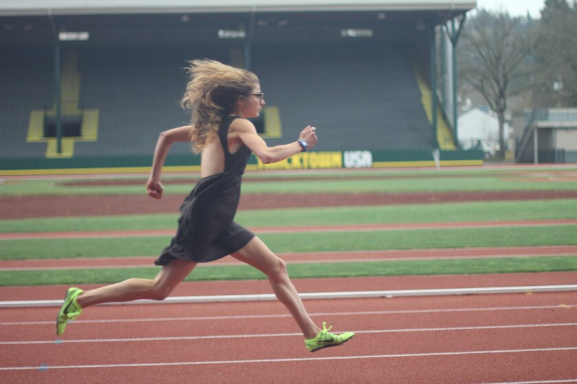 """Alexi Pappas stars in """"Tracktown."""""""