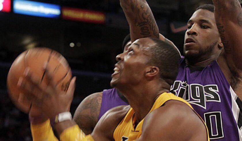 Houston forward Thomas Robinson, shown with the Sacramento Kings in October, might be moved to another team as the Rockets pursue Lakers center Dwight Howard.