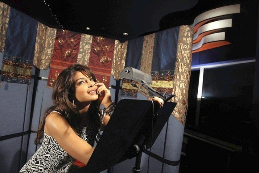 Bollywood star Priyanka Chopra makes the transition from the big screen to a singing career.