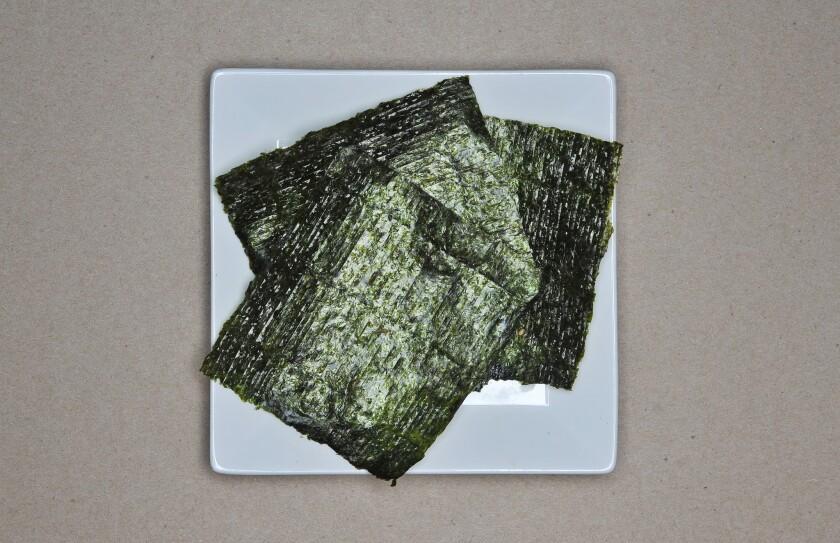 Seaweed (Nori).