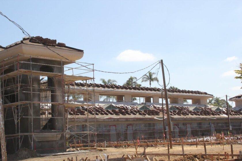 Palma de la Reina on Via de la Valle is expected to welcome tenants in June. Photo by Karen Billing