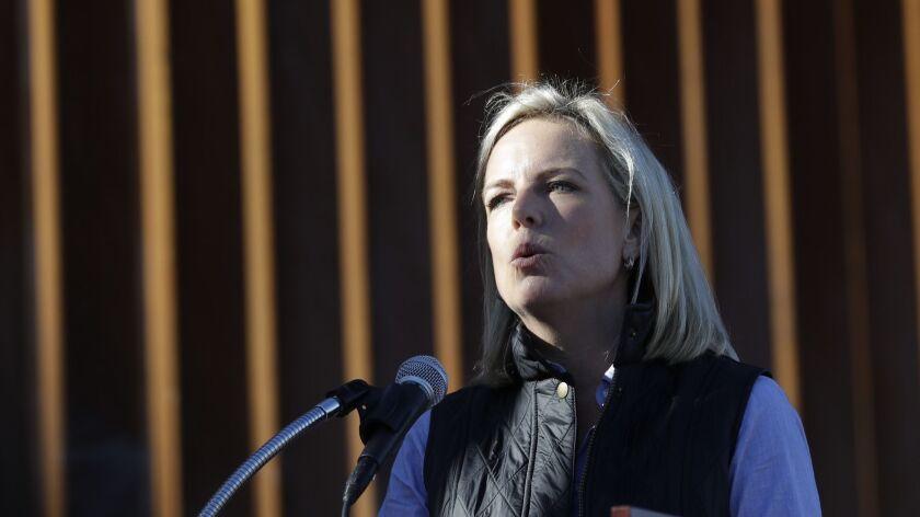 Kirstjen Nielsen, Homeland Security chief, resigns after