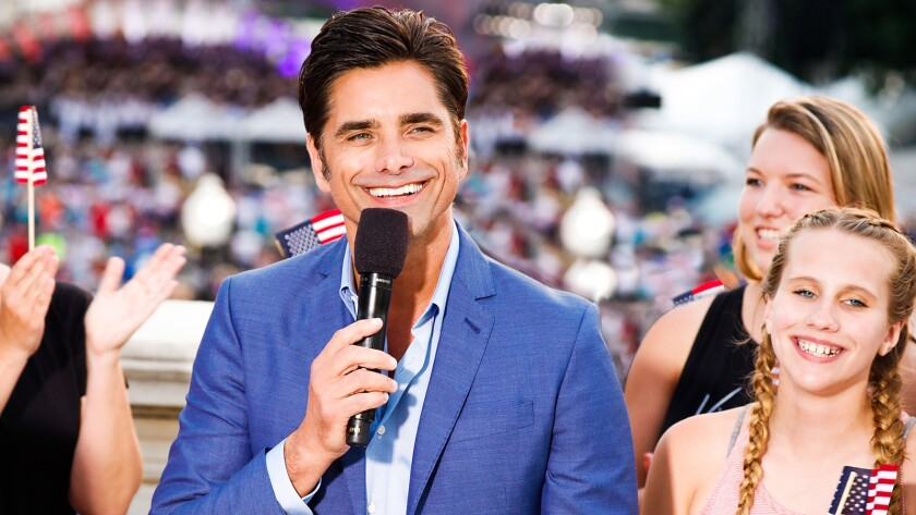 "John Stamos hosts ""A Capitol Fourth"" on PBS."
